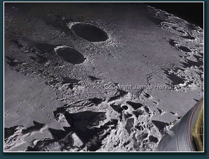 Detail view of craters Aristillus and Autolycus