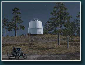 Thumbnail  Lowell Observatory by moonlight